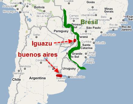carte-argentine-chute-iguazu